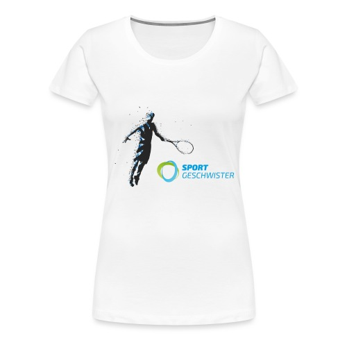 Flying SportGeschwister Player - Frauen Premium T-Shirt