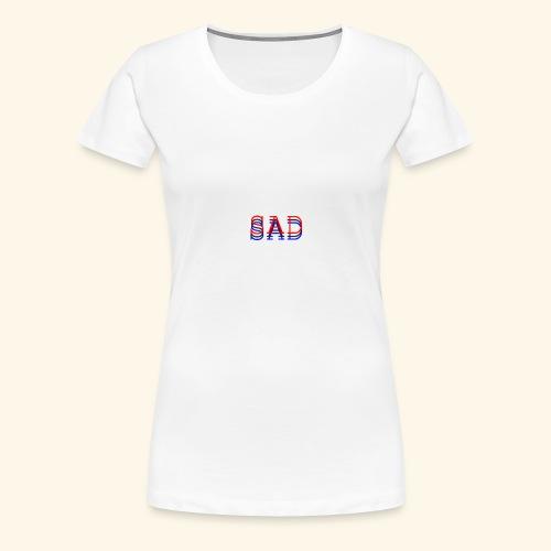 sad - Women's Premium T-Shirt