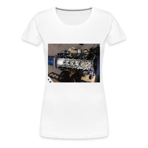 Motor tröja - Premium-T-shirt dam