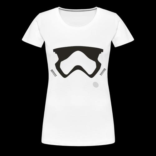 Modern Stormtrooper Face - Women's Premium T-Shirt