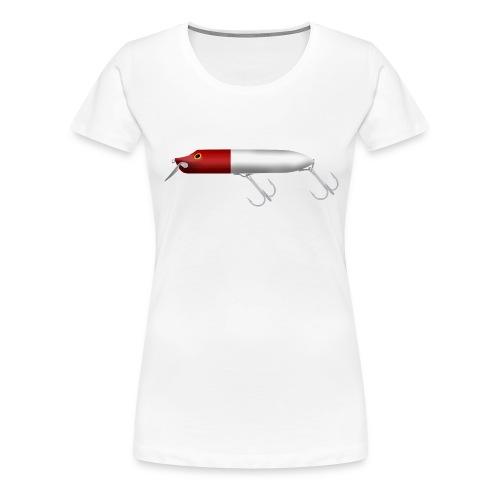 Fishing lure red head - Premium-T-shirt dam