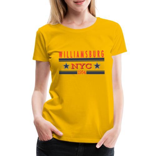 Williamsburg Hipster - Frauen Premium T-Shirt