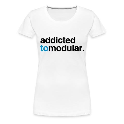 Synth Nerd - Women's Premium T-Shirt
