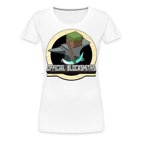Official Blocksmiths T-Shirt - Women's Premium T-Shirt