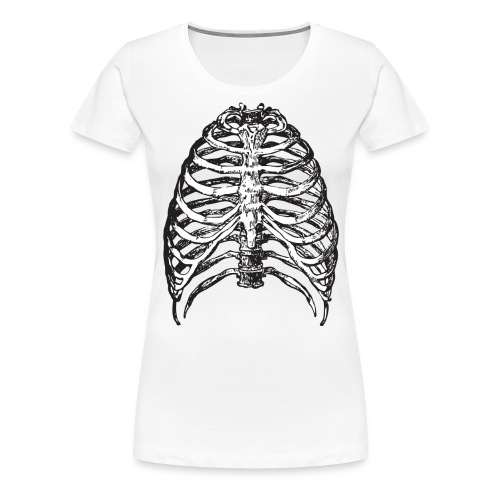 Scary Ribs - Frauen Premium T-Shirt