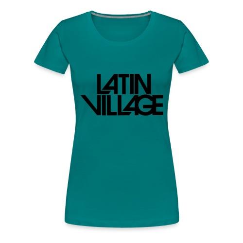 Logo Latin Village 30 - Vrouwen Premium T-shirt