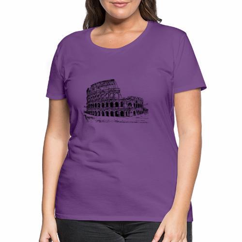 Kolosseum - Frauen Premium T-Shirt