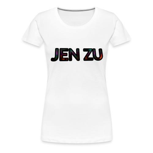 JEN ZU YT - Naisten premium t-paita