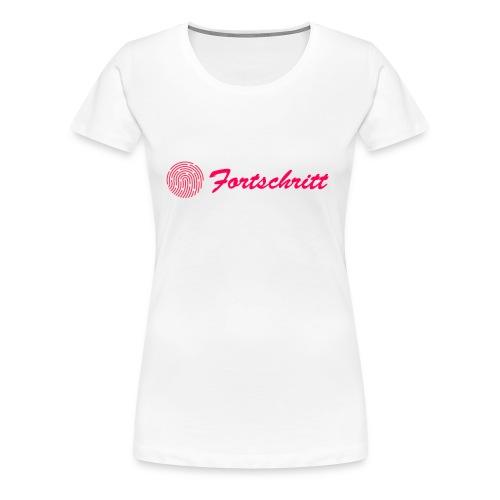 Fortschritt - Frauen Premium T-Shirt
