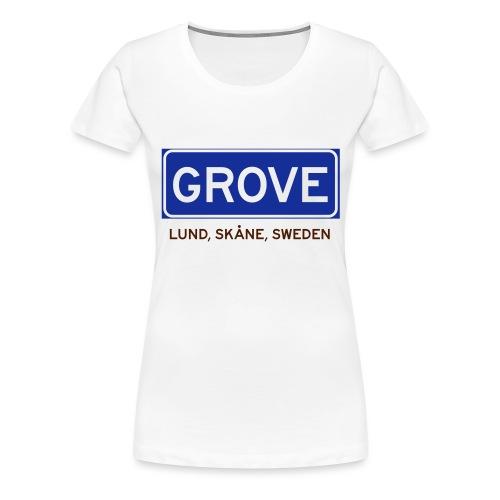 Lund, Badly Translated - Premium-T-shirt dam