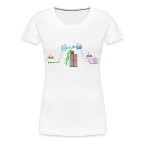 Freunde & Pflanzen - Frauen Premium T-Shirt