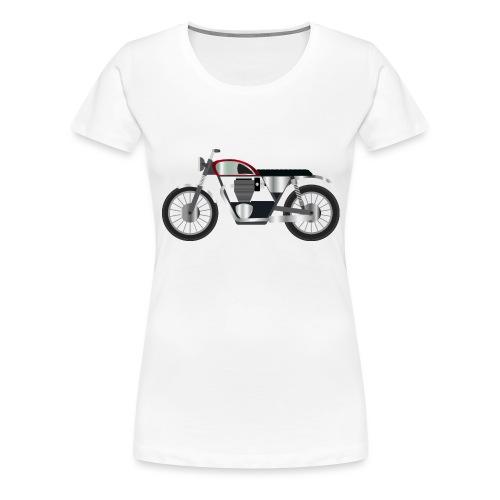 Motorcycle - Vrouwen Premium T-shirt