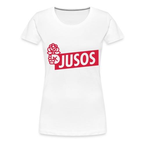 3328707 124477953 Juso Logo - Frauen Premium T-Shirt