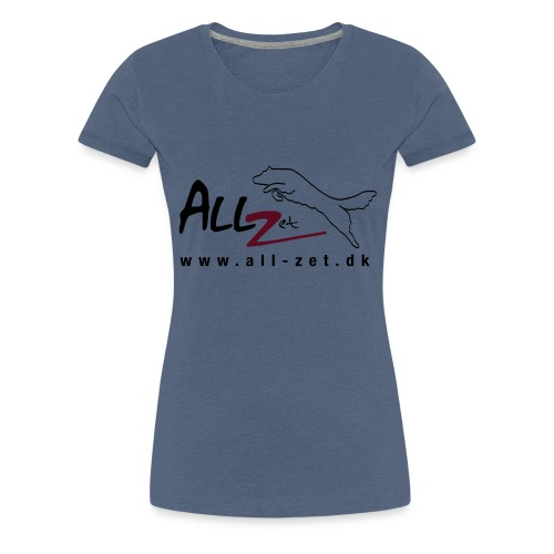 All Zet Logo - Dame premium T-shirt