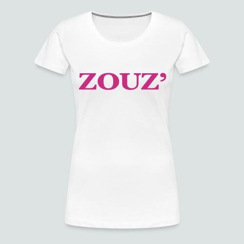 ZOUZ' - T-shirt Premium Femme