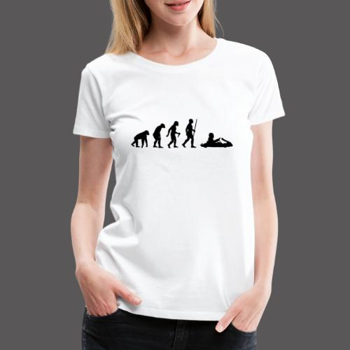 Kartevolution - Frauen Premium T-Shirt