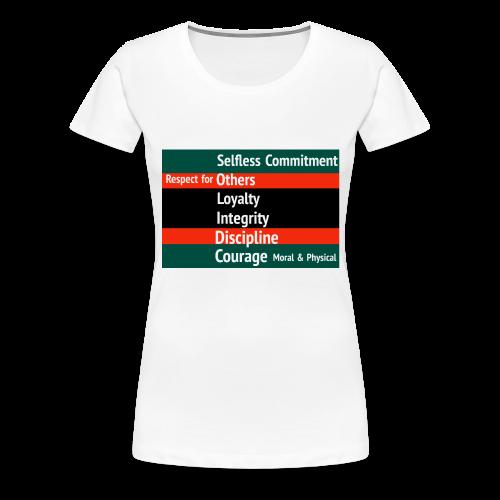 S.O.L.I.D.C. - Women's Premium T-Shirt