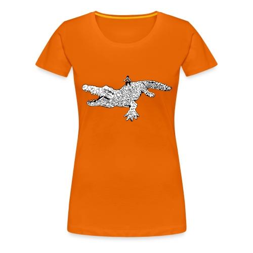 JUANCHO RIDES AGAIN MASTER - Women's Premium T-Shirt