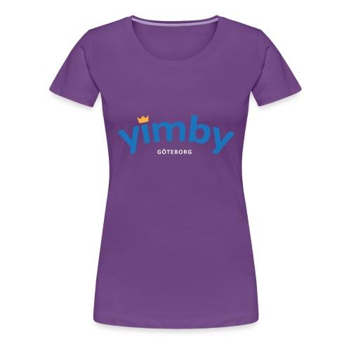 Yimby Göteborg väska - Premium-T-shirt dam