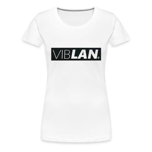 VibLAN_LOGO - Dame premium T-shirt