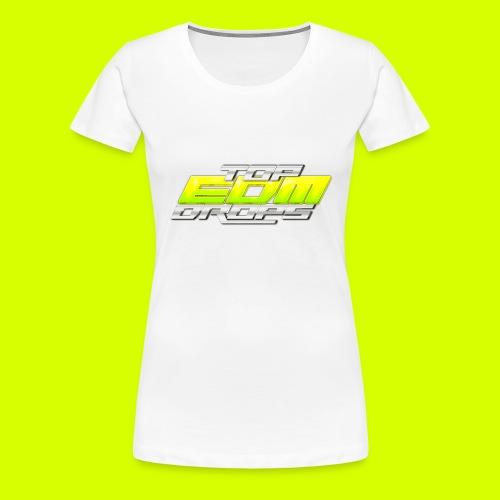 Snapback TopEDMDrops - Women's Premium T-Shirt