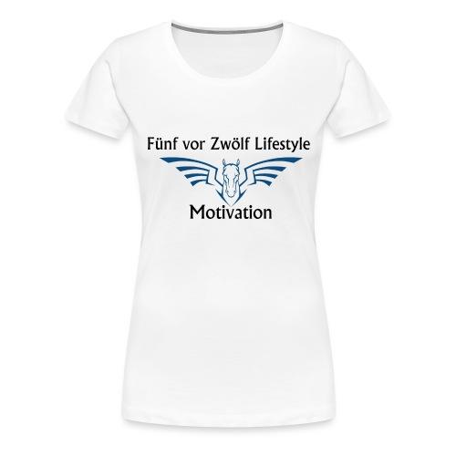 lifestyle Kaputzenpulli - Frauen Premium T-Shirt