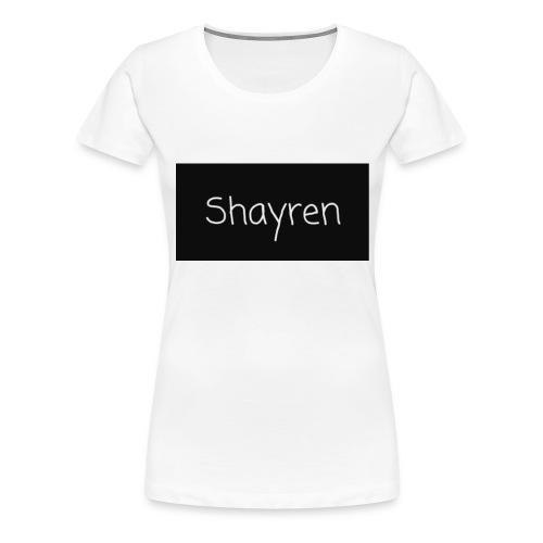 Shayren t-shirt - Vrouwen Premium T-shirt
