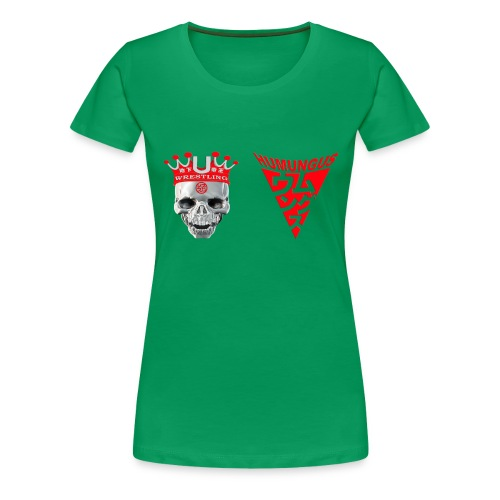 skull krone humungus3 png - Frauen Premium T-Shirt
