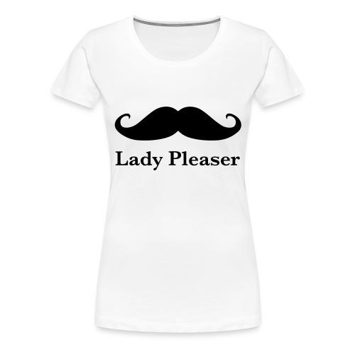 Lady Pleaser T-Shirt in Green - Women's Premium T-Shirt