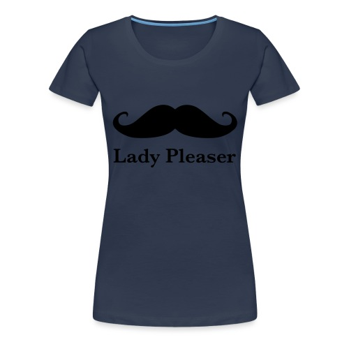Lady Pleaser T-Shirt in Green - Women's Premium T-Shirt