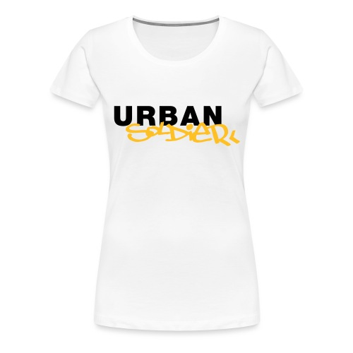 Urban Soldier Classic Solo Logo - Frauen Premium T-Shirt