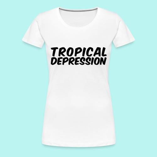 Tropical Depression - Frauen Premium T-Shirt