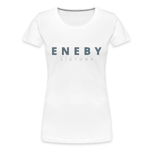 Eneby Sigtuna logo - Premium-T-shirt dam