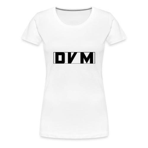 BLACK DVMTV SWEATER - Women's Premium T-Shirt