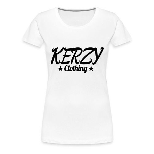 Official KerzyClothing T-Shirt Black Edition - Women's Premium T-Shirt
