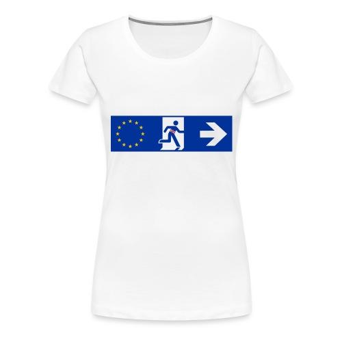 brexit United Kingdom - Maglietta Premium da donna