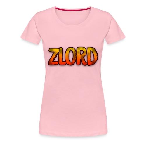 YouTuber: zLord - Maglietta Premium da donna