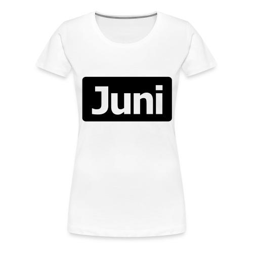 juni1 - Frauen Premium T-Shirt