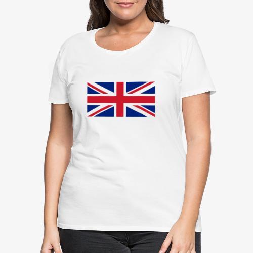 FLAG OF U.K. - Maglietta Premium da donna