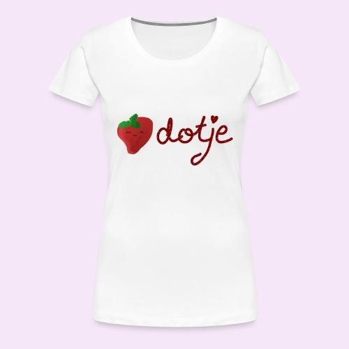 Baby aardbei Dotje - cute - Vrouwen Premium T-shirt