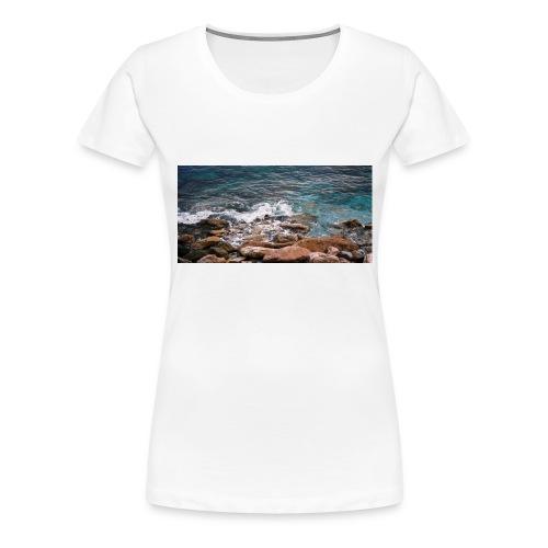 Handy Hülle Meer - Frauen Premium T-Shirt