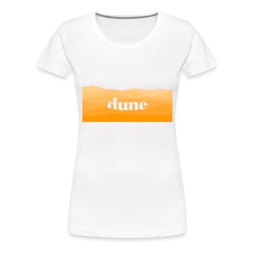 DUNE Dune del deserto minimal onde futuristiche - Maglietta Premium da donna