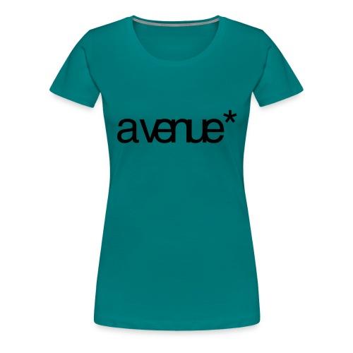 Logo AVenue1 80 - Vrouwen Premium T-shirt