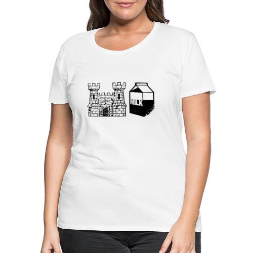 Castlemilk - Women's Premium T-Shirt