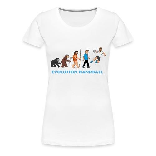 Handball Evolution - Frauen Premium T-Shirt