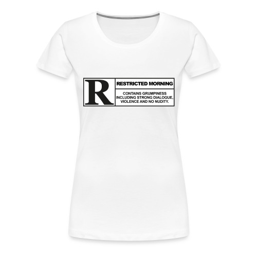 rated cup png - Frauen Premium T-Shirt