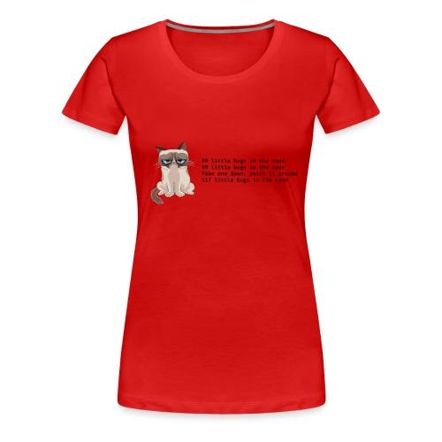 99 litle bugs of code - Vrouwen Premium T-shirt
