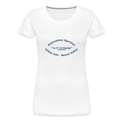 as3mt Dos - T-shirt Premium Femme