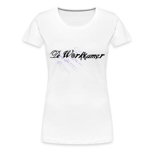 werkkamer edit - Vrouwen Premium T-shirt