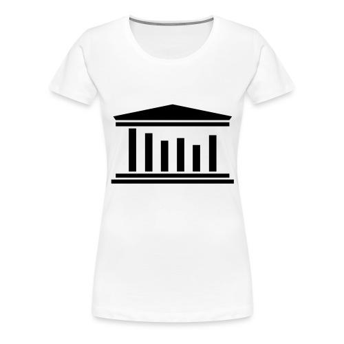 TST Logo Black - Women's Premium T-Shirt